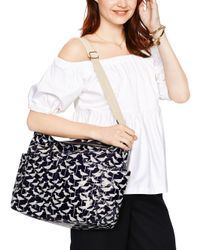 kate spade new york White Daycation Serena Baby Bag