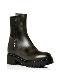 Moda In Pelle Black Balbina Low Casual Short Boots