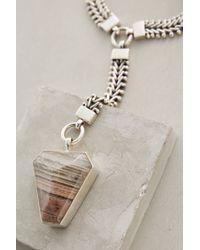 Maniamania - Gray Kalena Pendant Necklace - Lyst