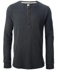 Edwin Black Long Sleeve Tshirt for men