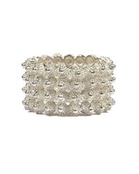 Vanilo - Metallic Rosario Ring - Lyst