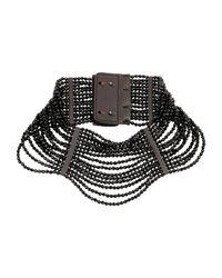 Brunello Cucinelli Black Necklace