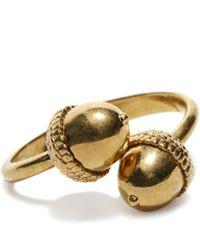 Alexander McQueen | Metallic Acorn Bracelet | Lyst