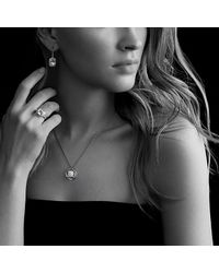 David Yurman - Noblesse Ring With White Topaz And Diamonds - Lyst
