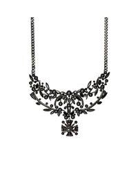 Givenchy - Black Bib Necklace - Lyst