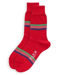 Thomas Pink | Red Ferndale Socks for Men | Lyst