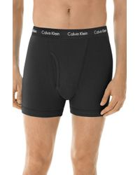 Calvin Klein Black Boxer Briefs for men