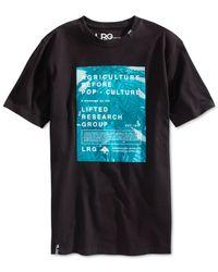 LRG - Black Agriculture Banner T-shirt for Men - Lyst