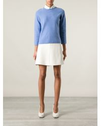 The Row Blue Tisa Sweater