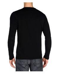 Napapijri | Black Long Sleeve T-shirt for Men | Lyst