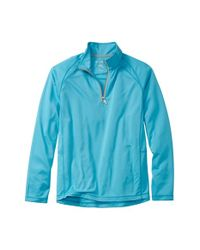 Tommy Bahama | Blue 'firewall - Paradise Tech Collection' Moisture Wicking Raglan Quarter Zip Pullover for Men | Lyst