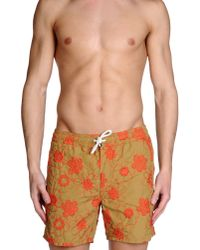 Roy Rogers - Natural Swimming Trunk for Men - Lyst
