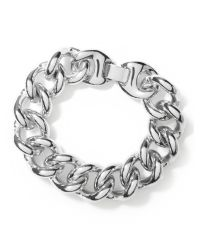 Banana Republic   Metallic Curb Chain Bracelet   Lyst