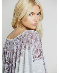 Free People - Multicolor Womens Pick Me Up Tee - Lyst
