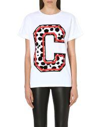 Être Cécile White Short Sleeve T-Shirt