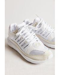 Adidas - White Blue Tubular '93 Sneaker - Lyst