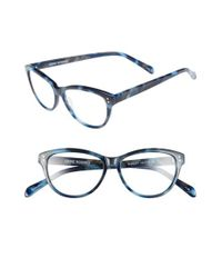 Corinne Mccormack | Blue 'marley' 50mm Reading Glasses | Lyst