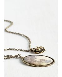 Ana Accessories Inc | Metallic Long Storybook Short Necklace | Lyst