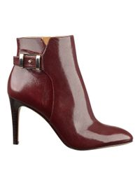 Nine West | Brown Palafox Pointy Toe Booties | Lyst