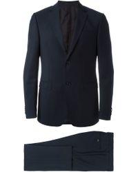 Z Zegna - Blue Formal Suit for Men - Lyst