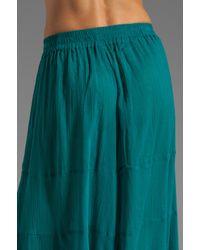 Gypsy Junkies - Green Lola Wide Leg Linen Pant - Lyst
