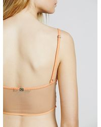 Free People | Orange Snapdragon Underwire Bra Snapdragon Cheeky Undie | Lyst
