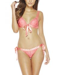 Cosabella | Pink Fetherston Thong | Lyst