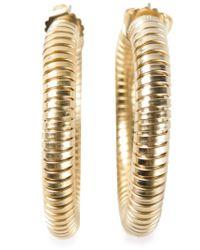 Janis Savitt Metallic 'cobra' Earrings