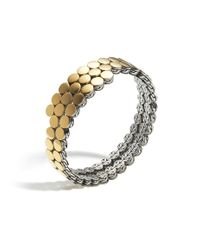 John Hardy | Yellow Dot Double Coil Bracelet | Lyst