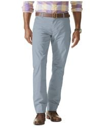 Dockers | Gray D1 Slim Fit Alpha Khaki On-the-go Flat Front Pants for Men | Lyst