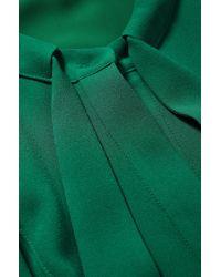 BOSS Green 'dylana'   Belted Neck-tie Shirt Dress