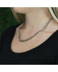 Todd Reed | Metallic Chain Link Necklace | Lyst