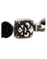 Roman Paul   Black Beaded Bracelet for Men   Lyst