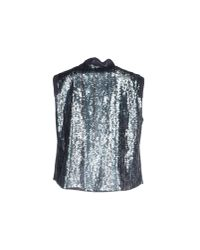 CoSTUME NATIONAL - Blue Top - Lyst