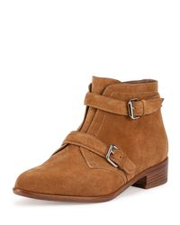 Tabitha Simmons | Natural Windle Double-Buckle Boots | Lyst