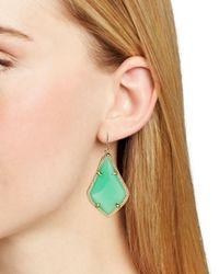 Kendra Scott | Green Alex Drop Earrings | Lyst