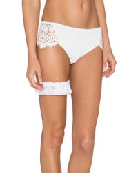 Only Hearts White Lady Jane Garter