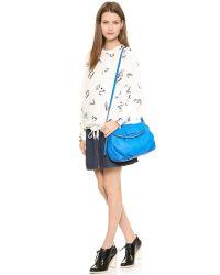 Marc By Marc Jacobs - Electro Q Natasha Bag  Electric Blue Lemonade - Lyst