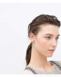 Zara | Multicolor Floral Earcuff Earring | Lyst