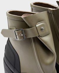 Hunter | Green Original Galosh High Heel Ankle Boots | Lyst