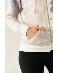 Alternative Apparel - White Adrian Hoodie Sweatshirt - Lyst