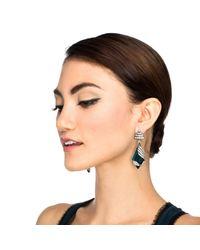 Lulu Frost | Green Reflection Earring | Lyst