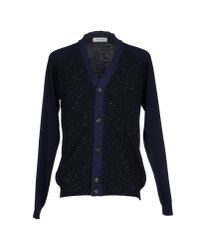 Mauro Grifoni | Blue Cardigan for Men | Lyst