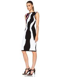 Ohne Titel - White Intarsia Tank Dress - Lyst