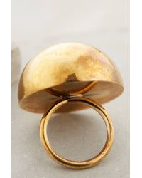 Winifred Grace   Metallic Dome Cocktail Ring   Lyst