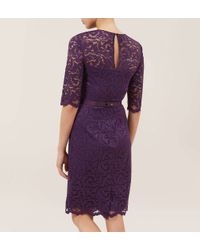 Hobbs | Purple Albany Dress | Lyst