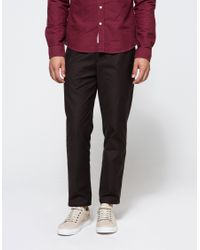 Obey - Natural Latenight Sateen Pant for Men - Lyst