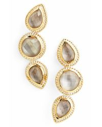 Anna Beck | Metallic 'gili' Doublet Stud Earrings | Lyst