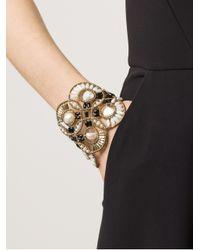 Ziio | White Cosmic Large Multi-beaded Bracelet | Lyst