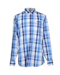 Dirk Bikkembergs | Blue Shirt for Men | Lyst
